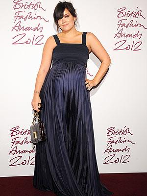 Lily Allen British Fashion Awards