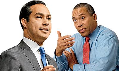 Julian Castro and Deval Patrick