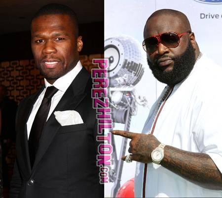 50 Cent Rick Ross Fake Shooting