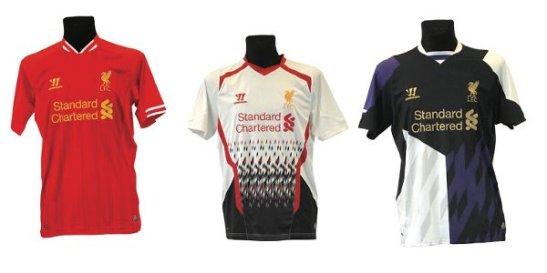 Liverpool 13-14 Kits